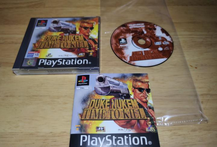 Duke nukem play station 1