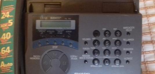 Fax / contestador sharp ux-68