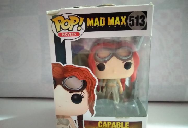 Figura funko mad max capable numero 513 - nueva