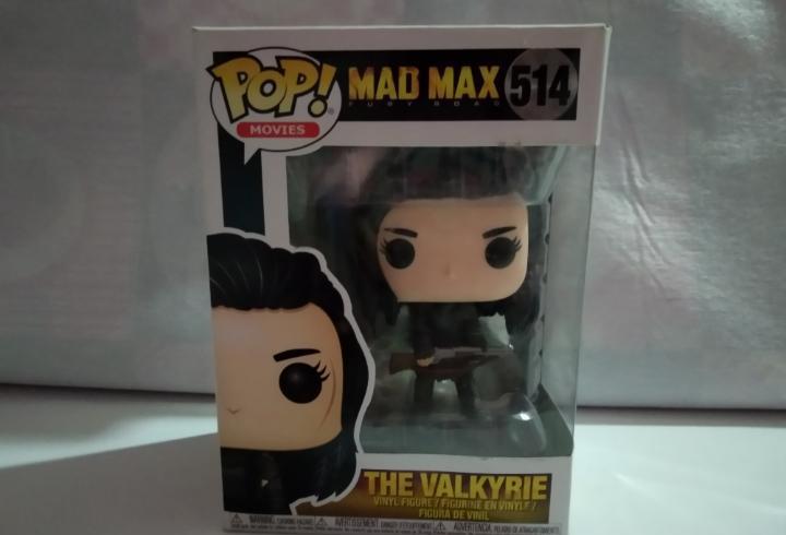 Figura funko mad max the valkyrie numero 514 - nueva