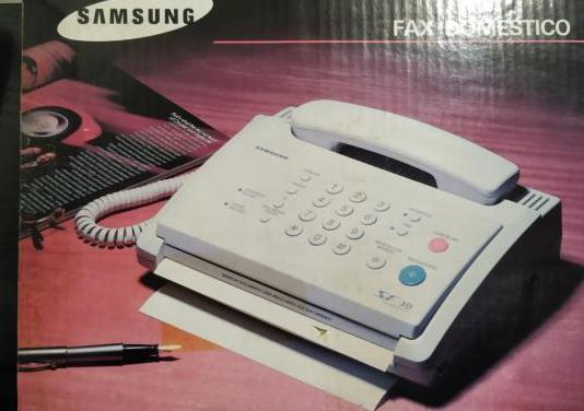Fax y teléfono samsung sf-30