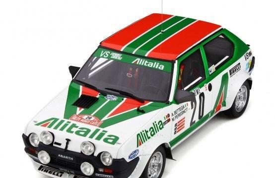 Fiat ritmo abarth grupo 2 monte carlo 1979 escala 1/18 de
