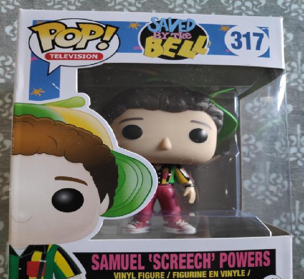 Figura funko pop samuel powers screech screech saved by the