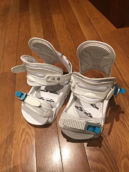 Fijaciones snowboard rossignol mujer