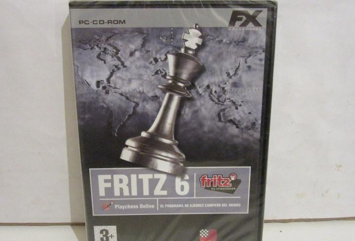 Fritz 6 - ajedrez - pc - cd - 2000 - windows 98, me / xp -