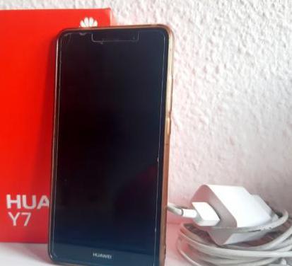 Huawei y7 16 gb - gris - libre