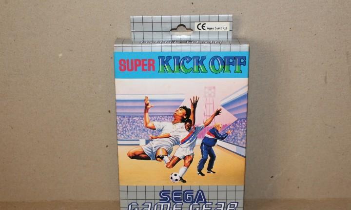 Juego sega game gear: super kick off --- completo.----
