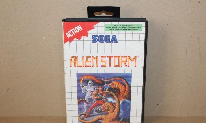 Juego sega master system: alien storm --- sin instrucciones.