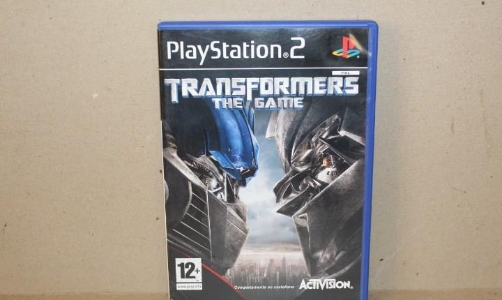 Juego sony playstation 2 - pal - transformers the game -