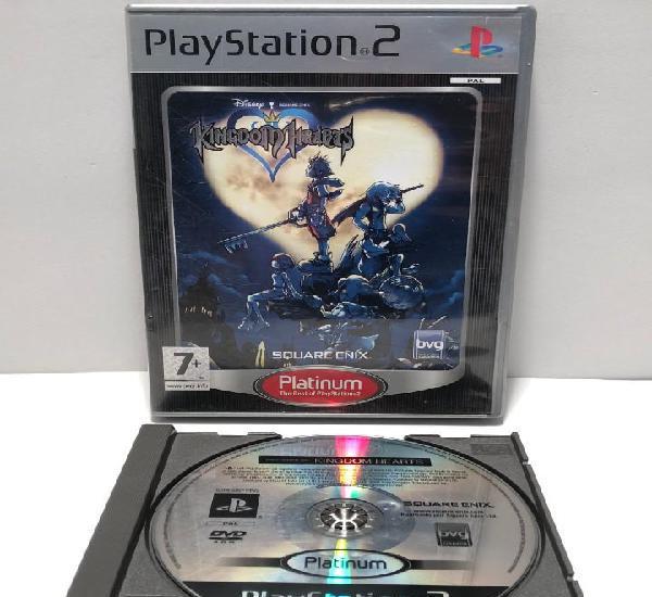 Kingdom hearts playstation 2 ps2