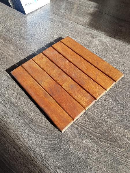 Losetas madera natural