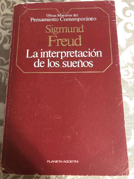 La interpretación de los sueños.