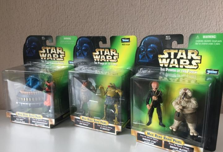 Max rebo band pairs completa - star wars - the power of the