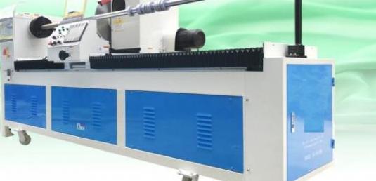 Maquina cortar rollos o bies automatica