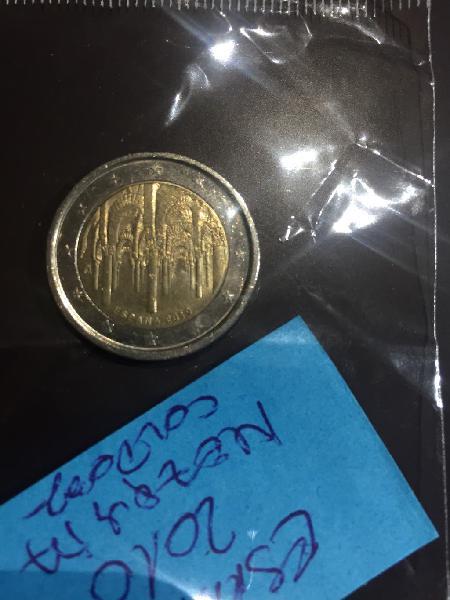 Moneda 2€ conmemorativa españa 2010 mezquita