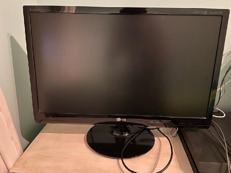 Monitor/televisión lg 23 pulgadas