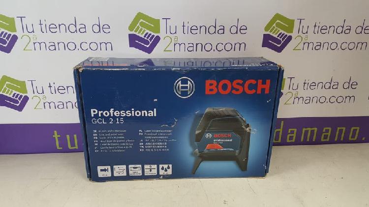 Nivel laser profesional bosch gcl 2-15