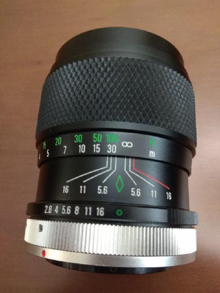 Objetivo canon fd 135 2.8 chinon