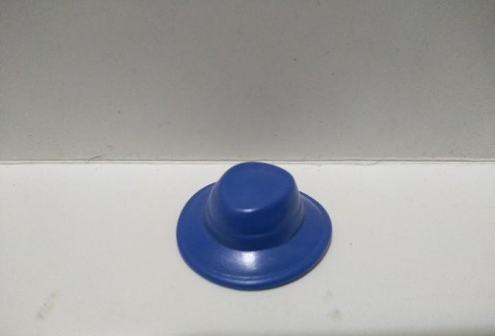 Playmobil gorra gorro sombrero azul granja medieval pirata