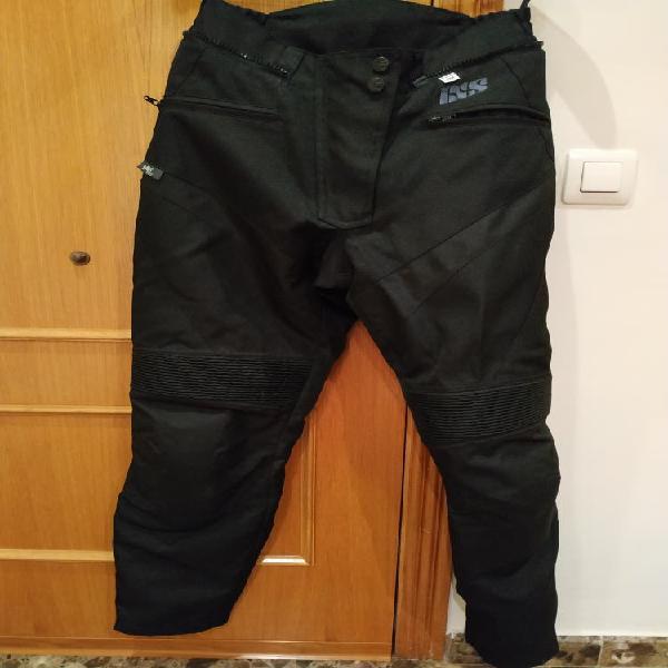 Pantalón cordura moto chica marca ixs
