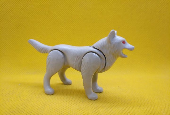 Playmobil lobo gris claro