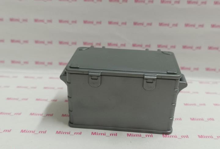 Playmobil caja gris contenedor pequeño mercancías arcón