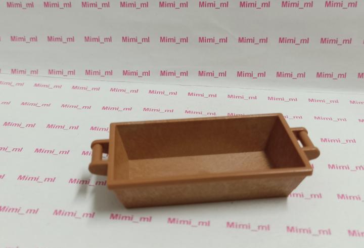 Playmobil gaveta marrón medieval romano comedero animales