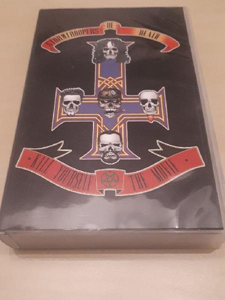 """S.o.d."""" kill yourself the movie"""" vhs 2000"""