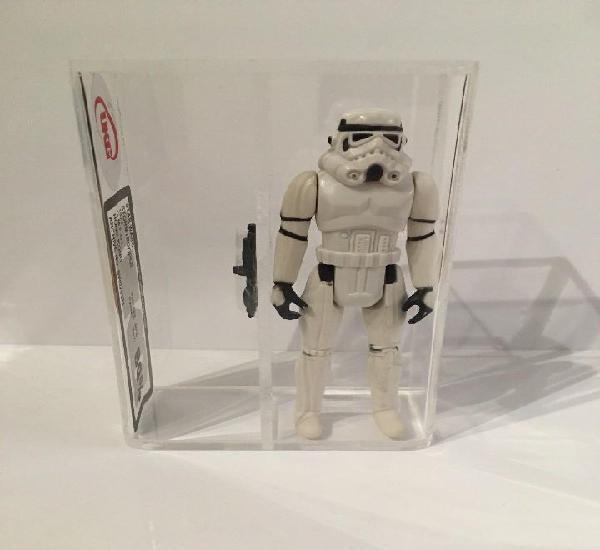 Stars wars kenner stormtrooper 1977 ukg 80.