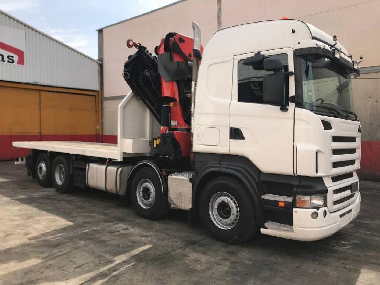 Scania R480 Camion grua Palfinger 60002