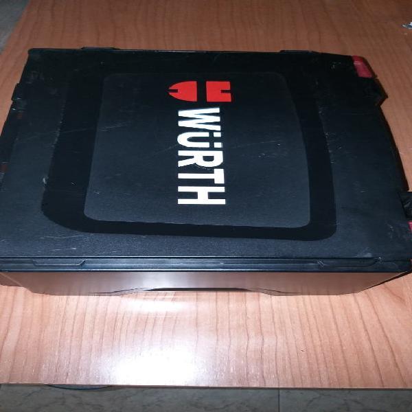 Taladro atornillador wurth 12v 2 baterías nuevo