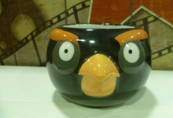 Taza en 3d de angry birds-nueva