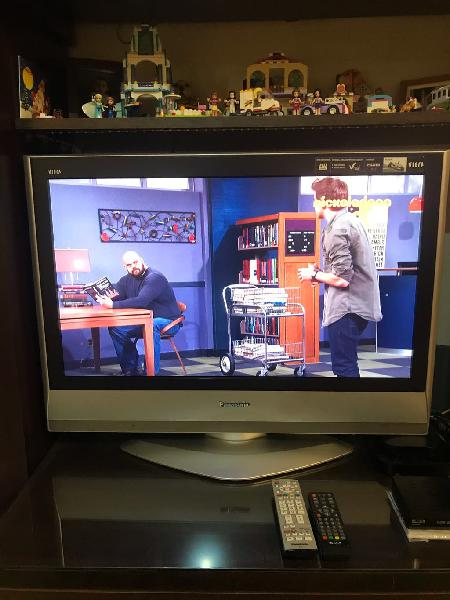 Televisor lcd panasonic panoramico