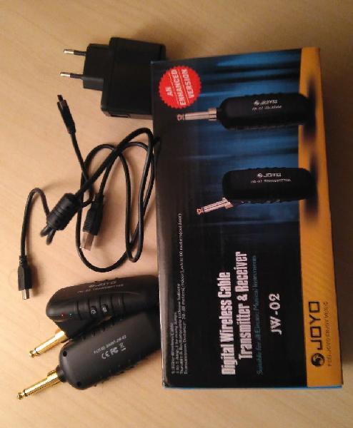 Transmisor y receptor joyo wireless jw-02