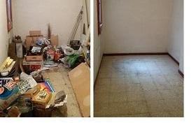 Vaciados de pisos,locales,almacenes,etc.