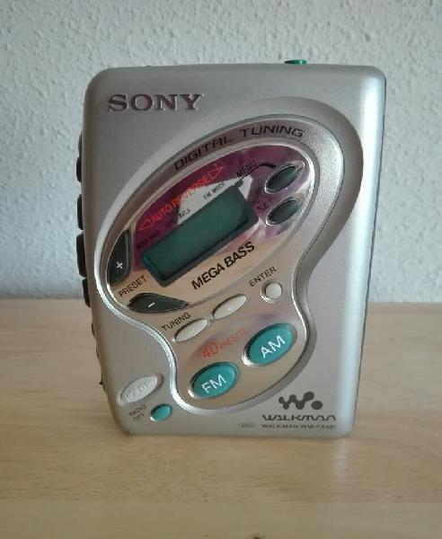 Walkman sony con radio