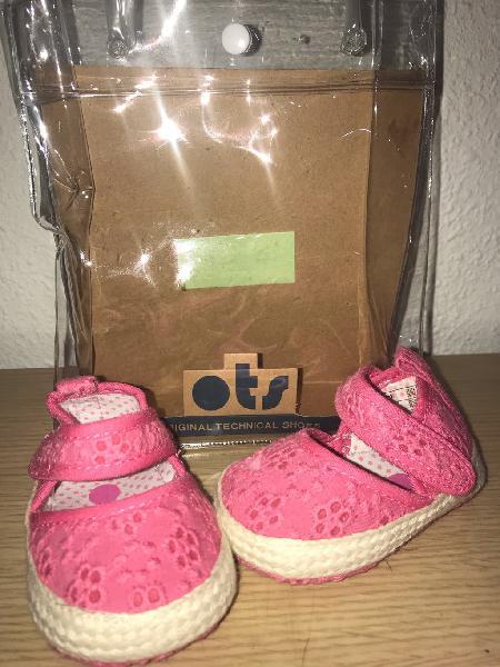 Zapatos bebé niña t-16 nuevos