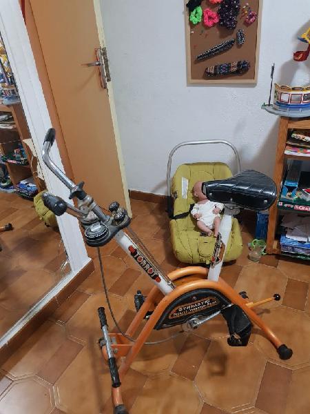Bicicleta estática tarot antigua