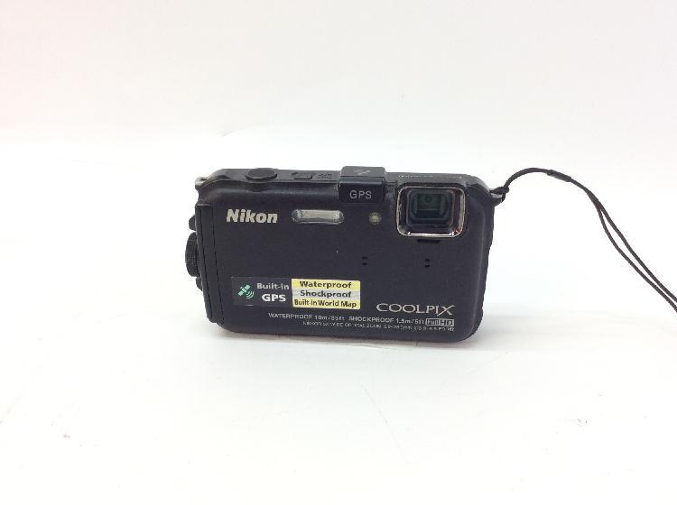 Camara compacta acuatica nikon coolpix aw100