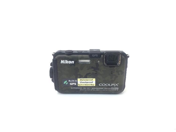 Camara digital compacta nikon aw100