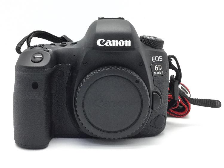 Camara digital reflex canon eos 6d mark ii