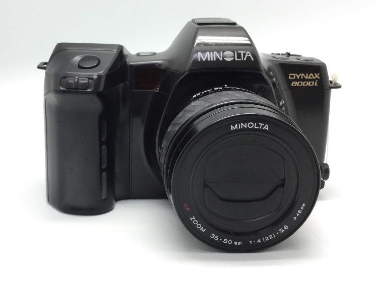 Camara reflex minolta dynax 8000 i