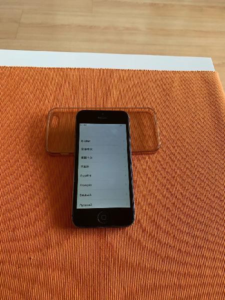 Iphone 5s 16 gb black