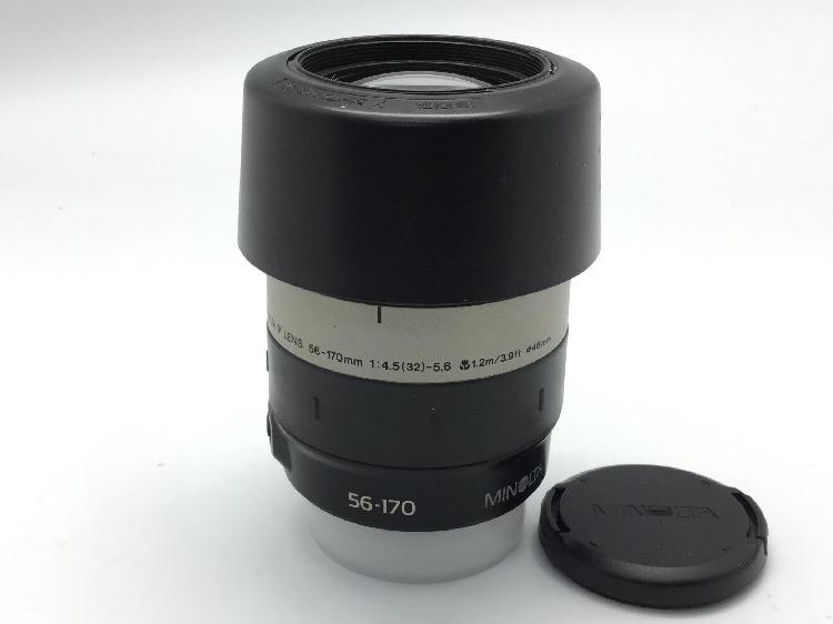 Objetivo minolta 56-170 mm