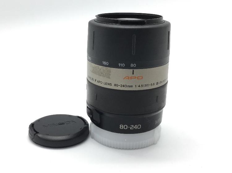 Objetivo minolta 80-240 mm