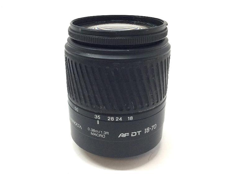 Objetivo minolta af dt zoom 18-70mm lens
