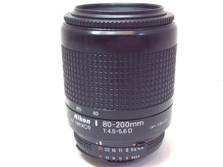 Objetivo nikon af nikkor 80-200 mm 4.5-56 d