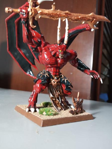 Principe demonio khorne warhammer fantasy age of s