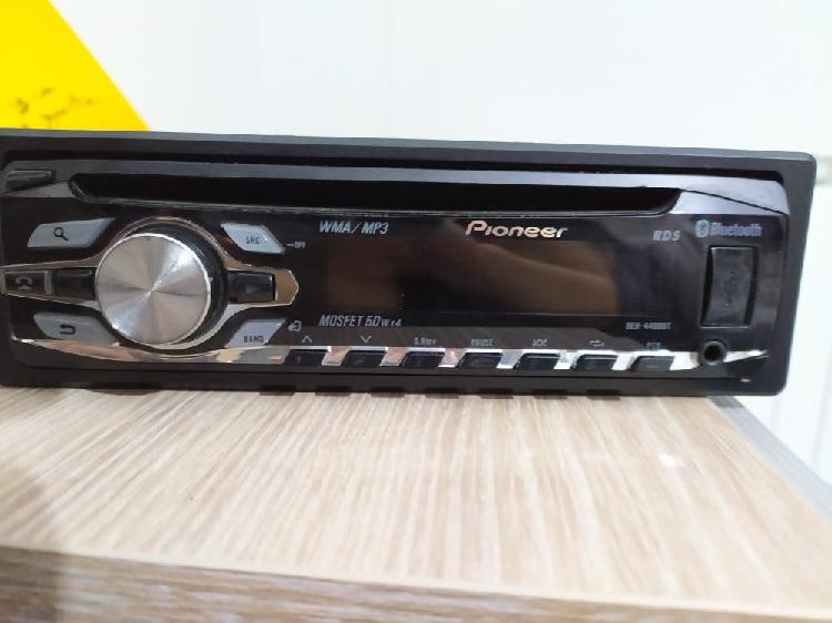 Radio cassette coche pionner con bluetooth y usb