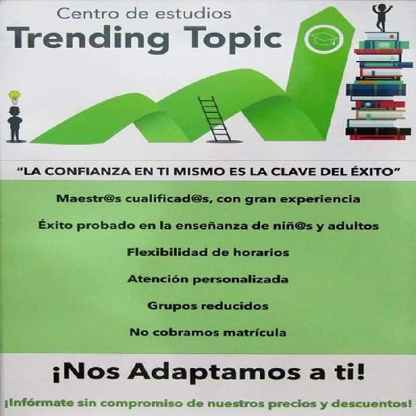 Centro de estudios Trending Topic